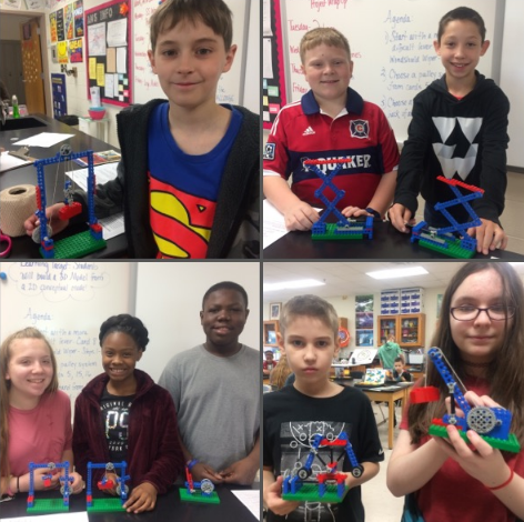 6th Grade Lego Model Build