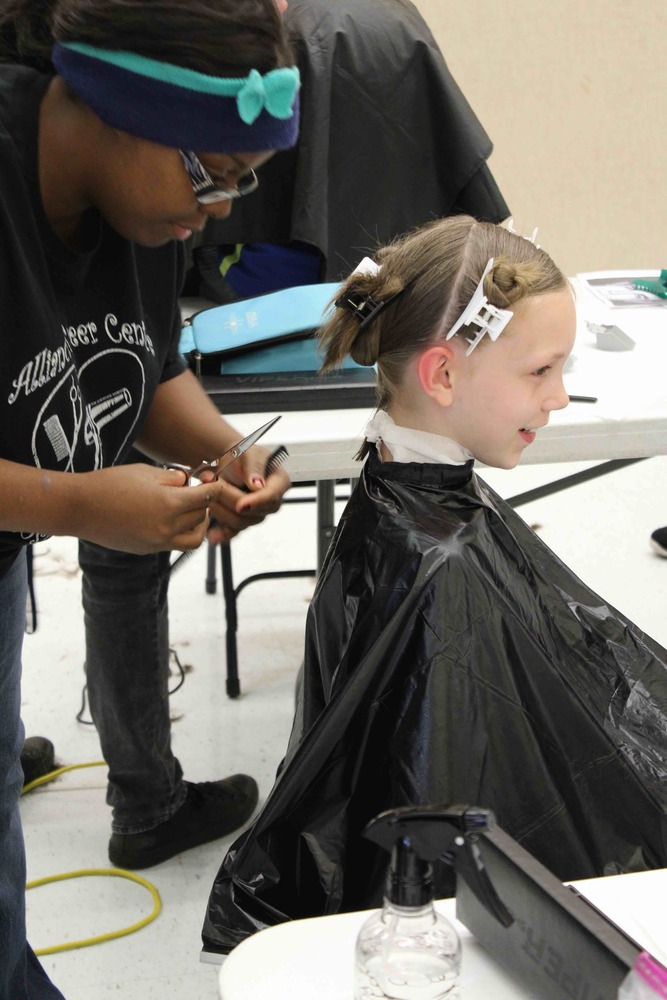 Cosmetology students offer Free Haircuts