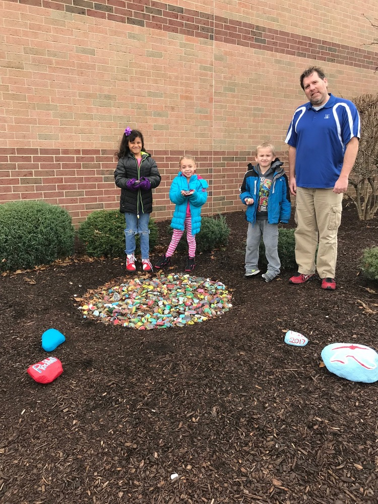 Rockhill Rock Garden shows student individuality