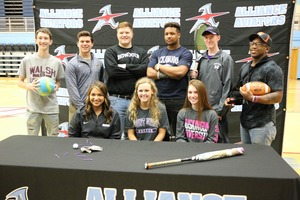 Athletes sign letters of intent for college