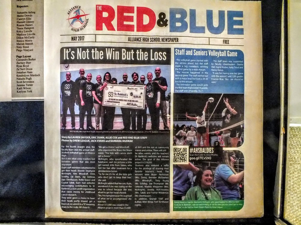 "100 Years of Red and Blue  ""Good News Well Told"""
