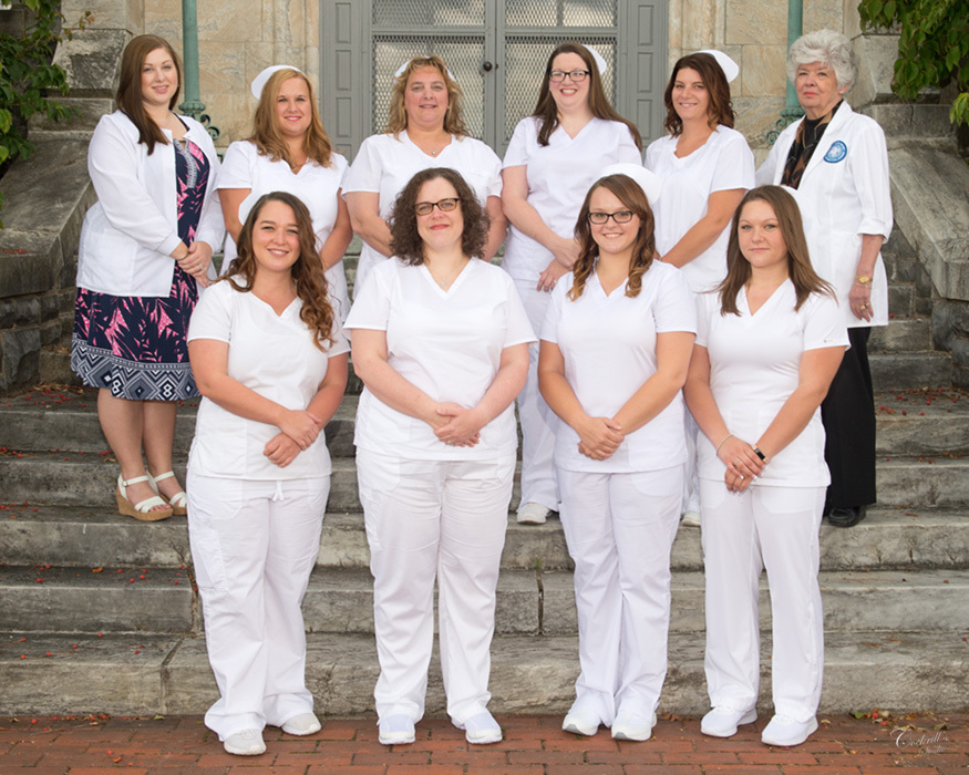 Congratulations to the LPN class of Sept. 2017