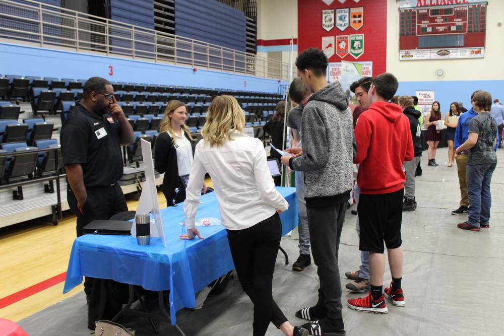 First Career Expo offers opportunities for students and employees for businesses