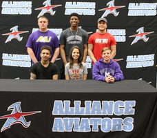 AHS hosts second athlete college signing day