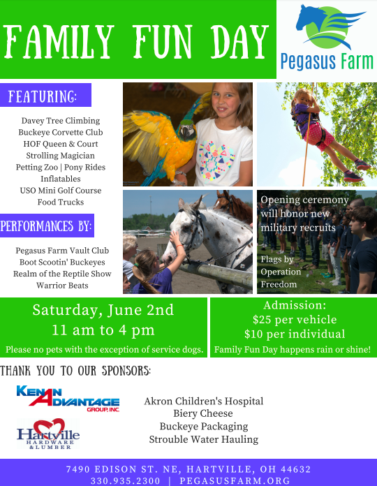 Pegasus Farm hosts Family Fun Day