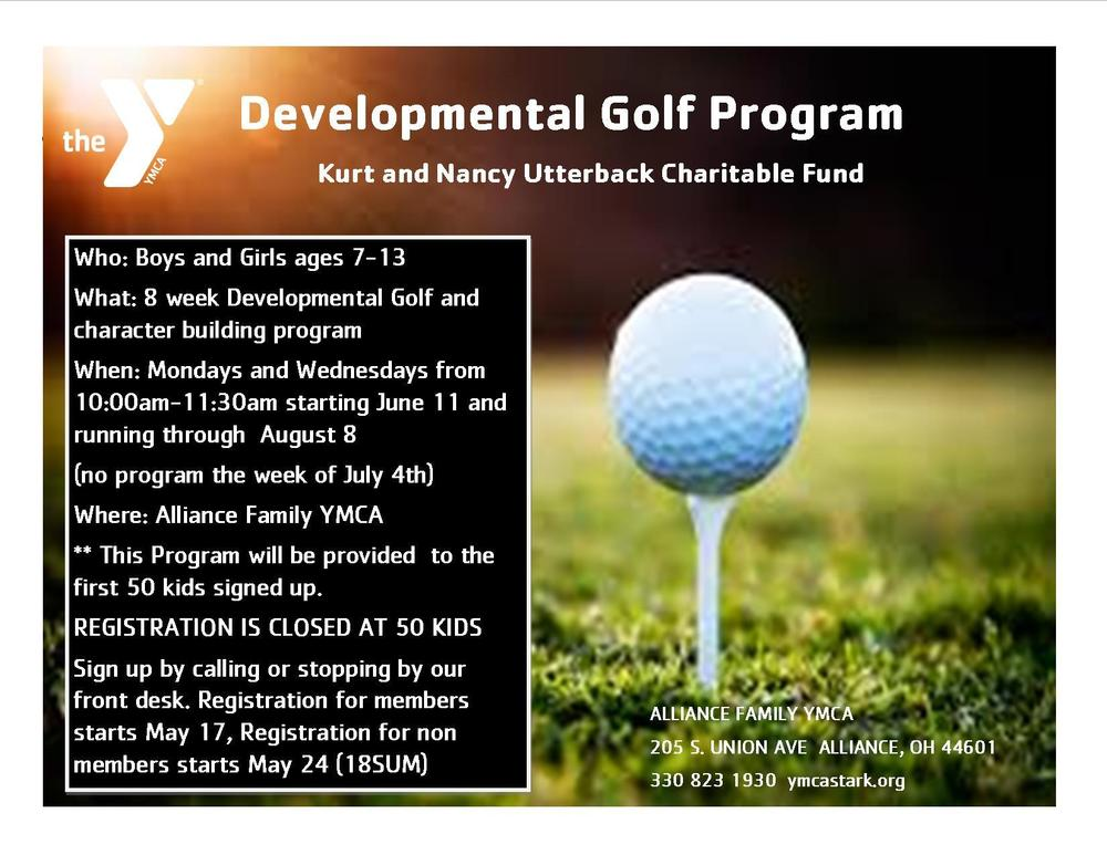 Golf program for students