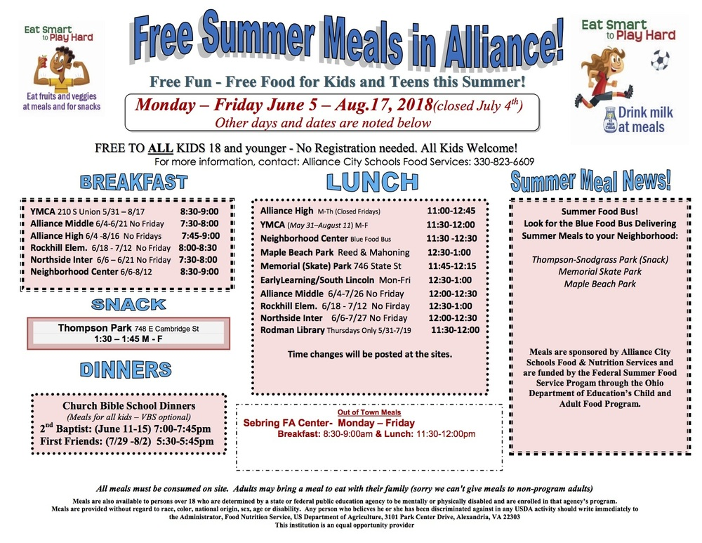 Summer Meals program kicks off