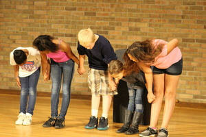 Summer Explorers try their hand at Shakespeare
