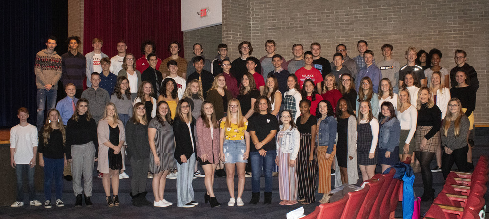 Fall Athletes Recognized