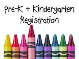 Preschool and Kindergarten Registration Time!!!