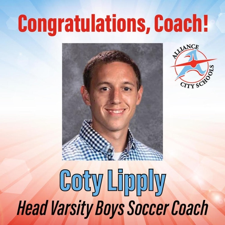 Coty Lipply Named Varsity Boys Soccer Coach
