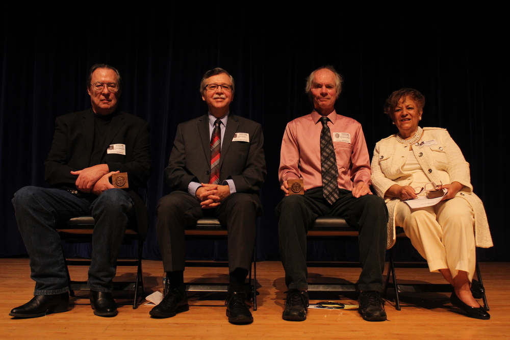Four Honored as Distinguished Alumni