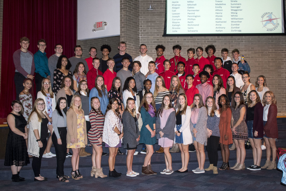 AHS Fall Athletes Honored