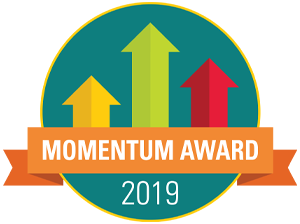 AHS Receives Momentum Award