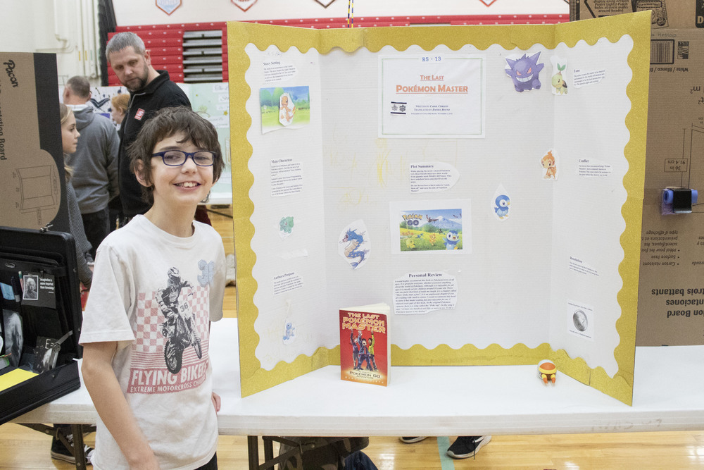 AMS Reading Fair Draws Crowd