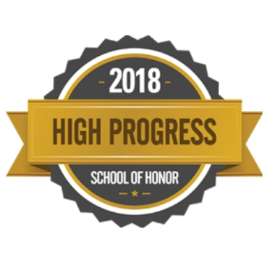 "Rockhill Recognized as ""High Progress School of Honor 2018"""