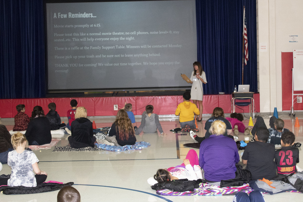 NIS Hosts Family Movie Night