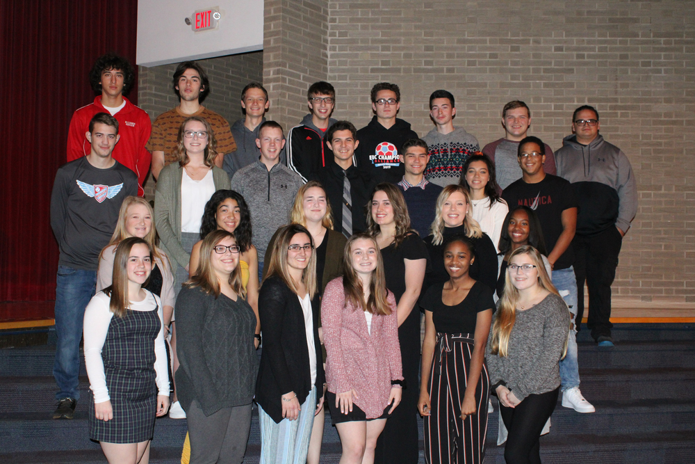 Athletes Recognized for Accomplishments