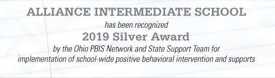 Congrats to AIS for PBIS Award!