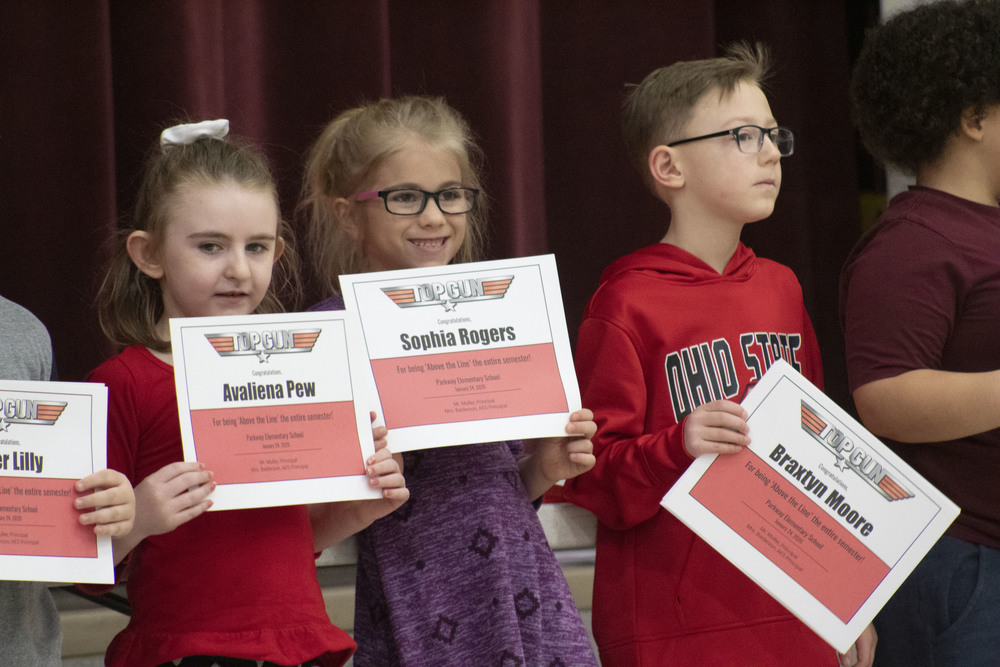Parkway Elementary Second Quarter Awards