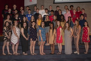 Spring Athletes Recognized