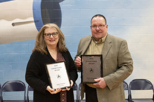 Gasparik, Poyser Recognized as Pathfinders