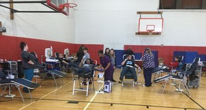 Blood Drive Yields Scholarship Money, Practice for Pre Med Students