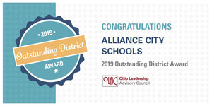 ALLIANCE CITY SCHOOLS WINS  OLAC OUTSTANDING DISTRICT AWARD