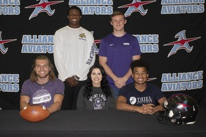 Five Athletes Commit to College