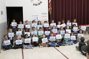 Parkway Elementary First Quarter Awards