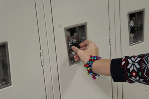 All Students Get Lockers, Not Many Use Them
