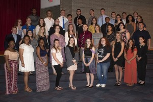 AHS Recognizes 42 Seniors