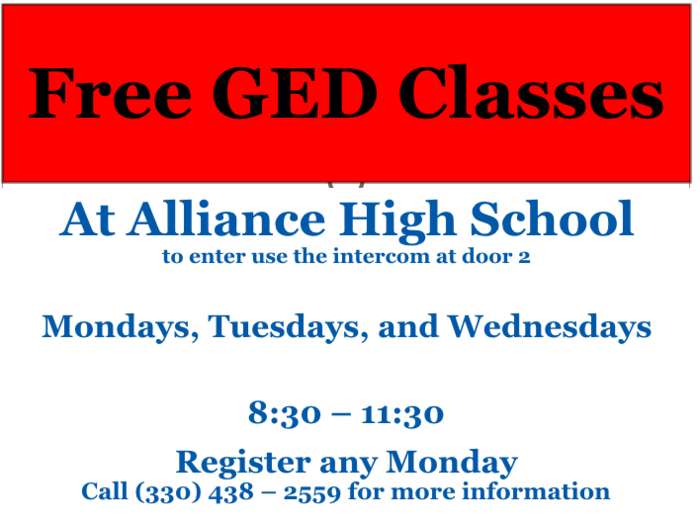 GED classes