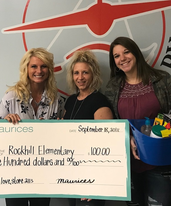 Maurices Donates to Rockhill