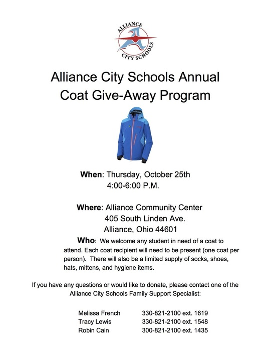 Coat Give-Away