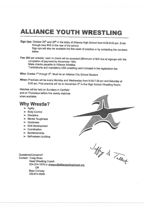 Alliance Youth Wrestling
