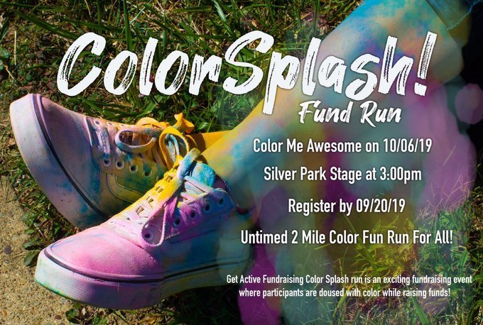 color splash fund run