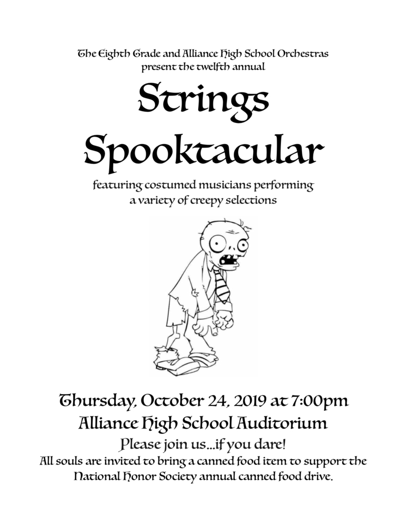 Strings spooktacular