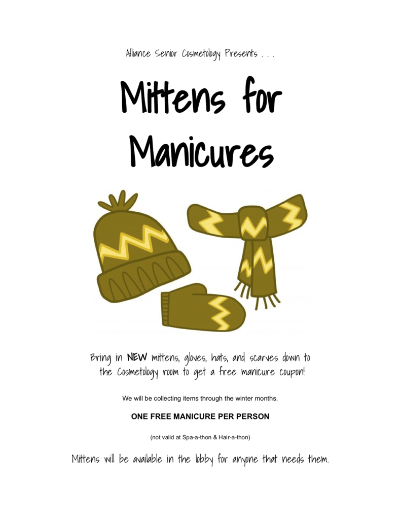 mittens for manis