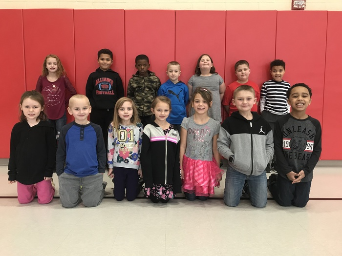 Jan. Students of Month