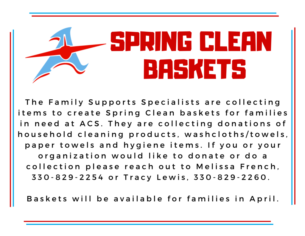 spring clean baskets