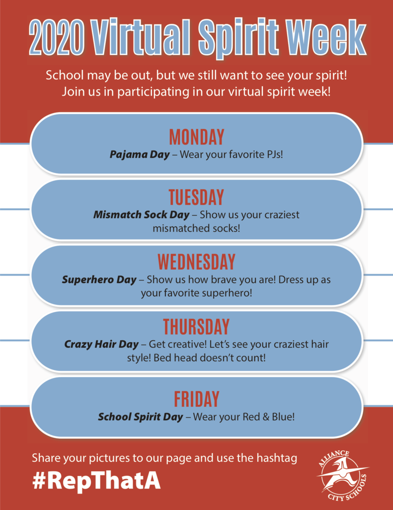 ACS Virtual Spirit Week