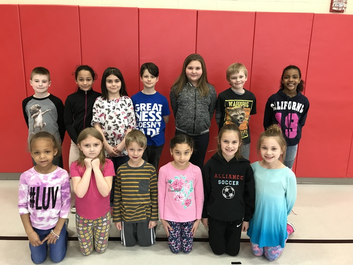 April students of the month at Rockhill