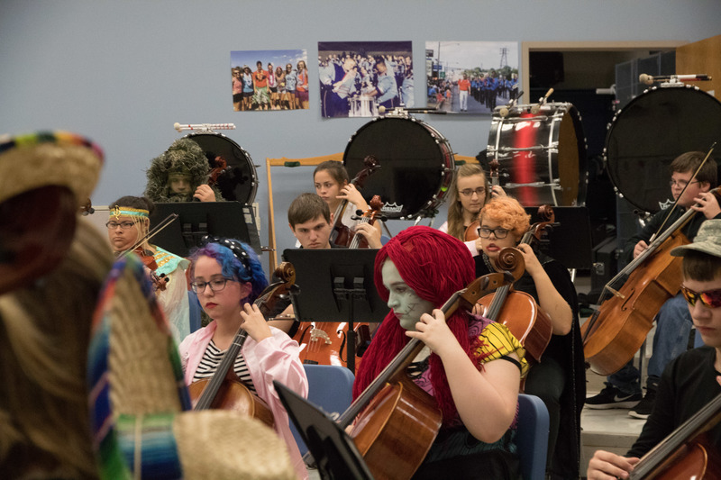 Strings Were Spooktacular at 10th Annual Concert